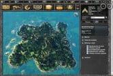 Расположите свою базу на острове