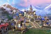 Прекрасный вид на замок