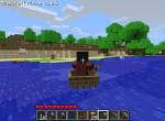 Переправляйтесь по воде в лодке