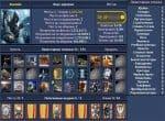 Полные данные о персонаже игры