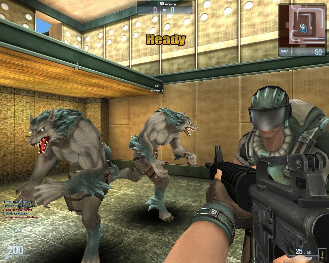 Онлайн игры волк