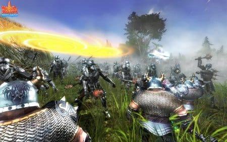 Красочное сражение