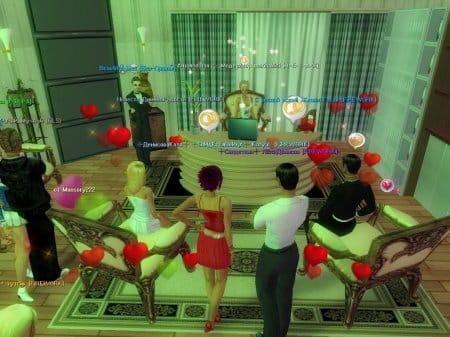 В Аватарику играть можно не только на дискотеках, но и в салонах для V.I.P. персон