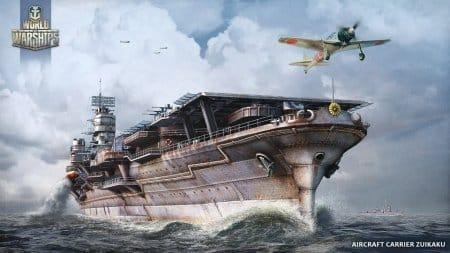 Авианосец «Дзуйкаку». Япония