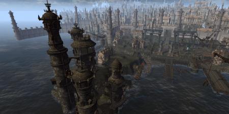 Вид на город Пароград