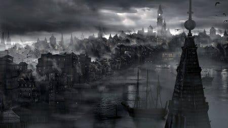 Мрачный и обреченный город