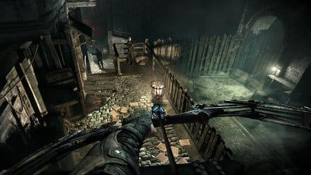 Гаретт использует водную стрелу, чтобы погасить горящий факел