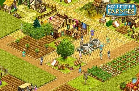 Чем больше посетителей – тем выше уровень фермы