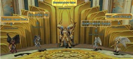 Боги в игре Reborn Online