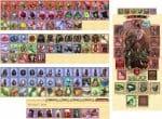 Разная уникальность вещей в игре Легенда Наследие драконов
