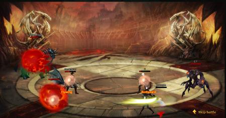 Яростный бой на арене игры Зов дракона 2