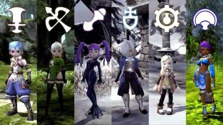 Классы персонажей в игре Dragon Nest