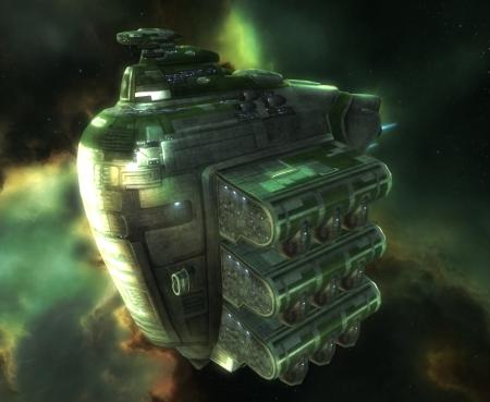 Современное кораблестроение Федерации Галленте