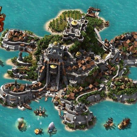 Один из самых крупных островов Pirate Storm