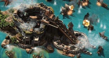 Зрелищное сражение между пиратами