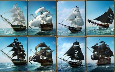 Корабли Pirate Storm