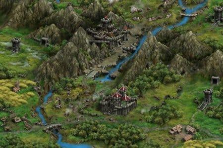 Одна из областей на карте игры «Раздор»