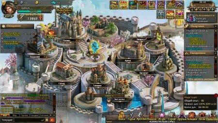 Замок в игре Битва титанов