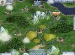 Карта города в игре Rail Nation