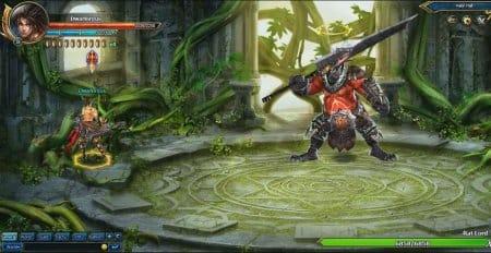 Босс в игре Blade Hunter.