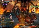 Босс Красный дракон и сражение с ним.