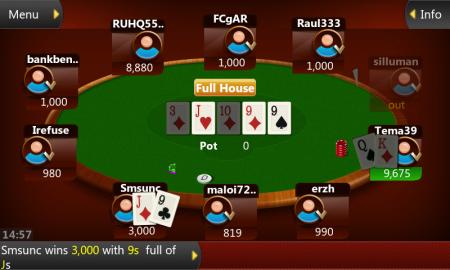 Приложение Онлайн-Покер