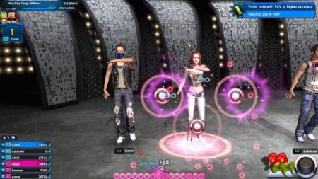 Один и танцевальных режимов