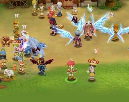 Так выглядят крылья на игровых персонажах.