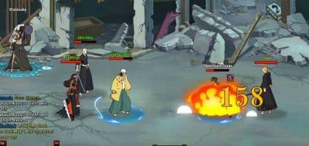 Сражение игрока с PvE-монстрами.