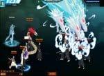 Первый раунд сражения. Навык ледяных драконов.