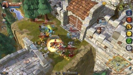 Сражения в игре