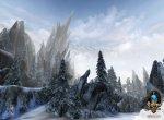 Неутихающие ветры с осколками льда, и снежных вершин в дали красота