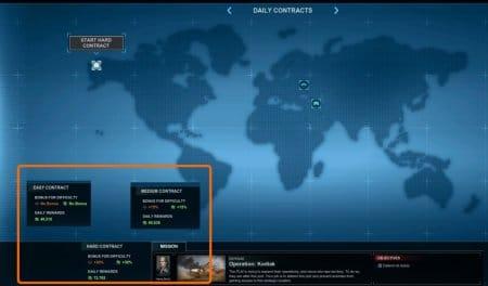 Карта PVE миссий