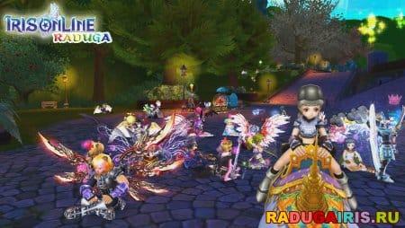 Персонажи Iris Online Raduga