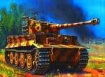 Рисованный немецкий танк