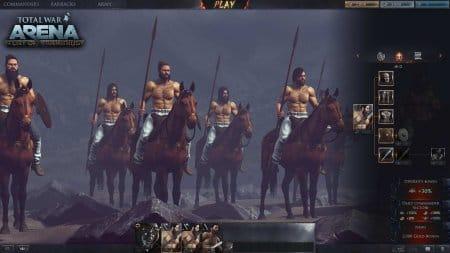 Игровые параметры кавалерии
