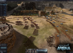 Столкновение игроков в сражении
